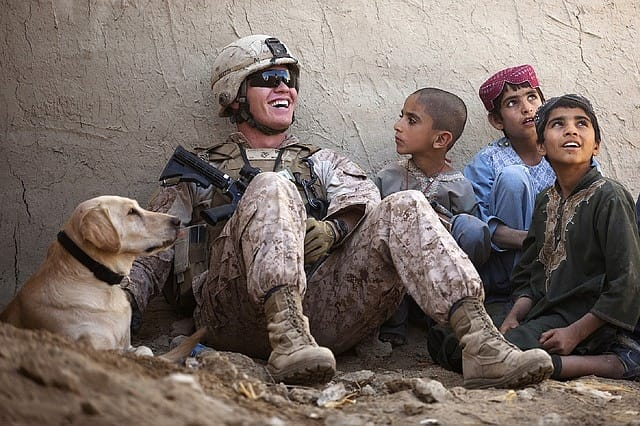 Marine in Afghanistan